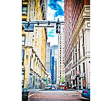 Downtown Pittsburgh  Photographic Print