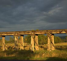 Old bridge by Kerry  Hill