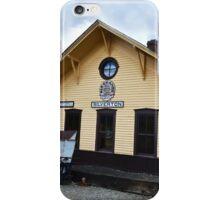 Silverton, Colorado, Train Depot iPhone Case/Skin