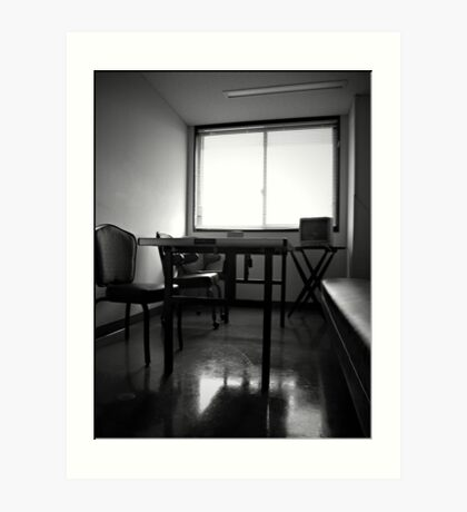 Breakroom Secrets Art Print