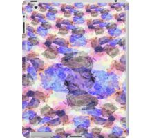 Blue, Pink, and Soft Black iPad Case/Skin