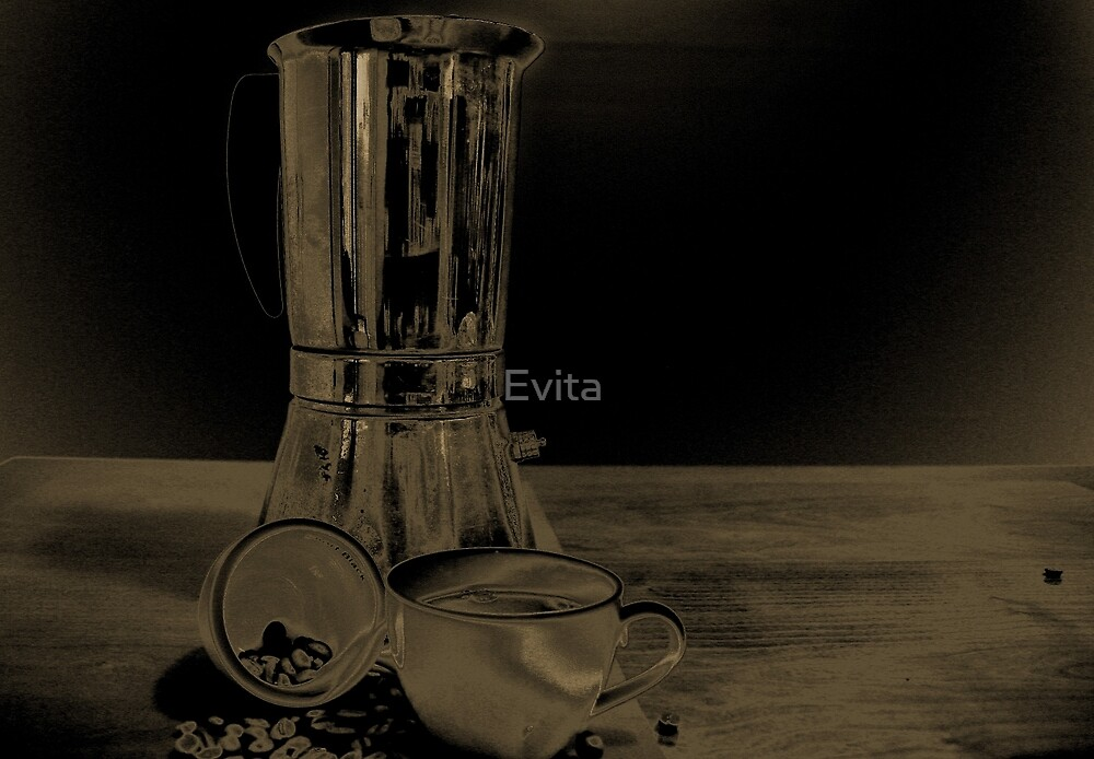 Coffee on the table by Evita