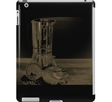 Coffee on the table iPad Case/Skin