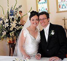 Paperwork's Done!  We're Hitched! by Rebecca  Nicolandos