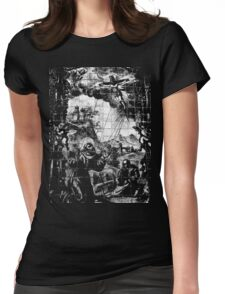 The Mural Womens Fitted T-Shirt