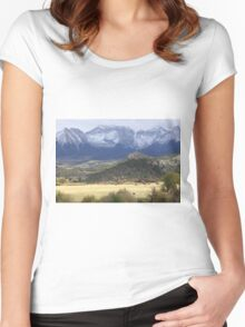 Winter's Coming Women's Fitted Scoop T-Shirt