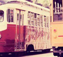 San Francisco Street Cars Sticker