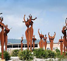 Naked giants de la rotunda. by Tigersoul