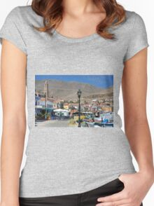 Harbour Lights Women's Fitted Scoop T-Shirt