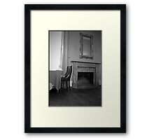 Dine by the Fire Framed Print