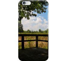Sheldon Marsh Scenic Overlook iPhone Case/Skin