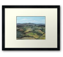 Montecastello view #1 Framed Print