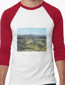 Montecastello view #1 Men's Baseball ¾ T-Shirt
