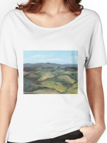 Montecastello view #1 Women's Relaxed Fit T-Shirt
