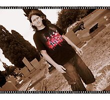grange goth Photographic Print