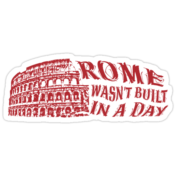 rome was not built in one Rome wasn't built in a day--and you'll need much more than a day to take in this timeless city the city is a real-life collage of piazzas, open-air.