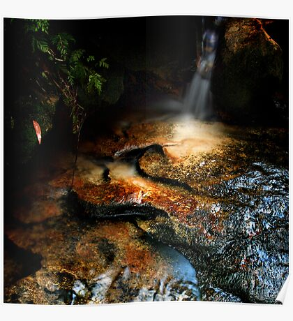 Winmalee Falls, Blue Mountains, NSW Poster