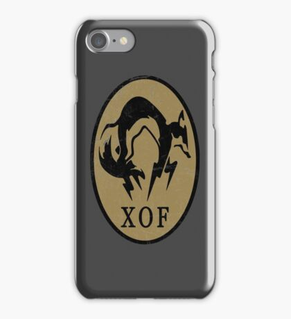 MGS - XOF Logo iPhone Case/Skin
