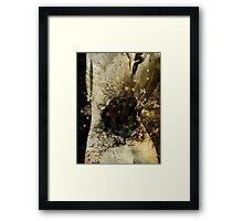 Black Hole Framed Print