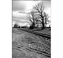 Spooky Railroad Photographic Print