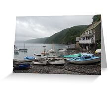 Clovelly, UK Greeting Card
