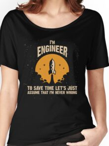 I'm ENGINEER Women's Relaxed Fit T-Shirt