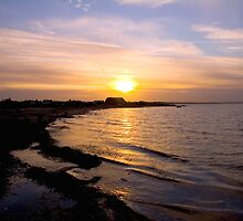 Costal sunset by Nordlys