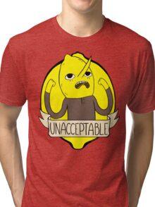 UNACCEPTABLE Tri-blend T-Shirt