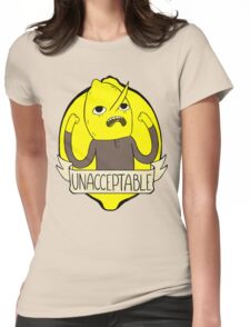 UNACCEPTABLE Womens Fitted T-Shirt