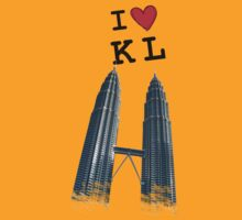 I Love Twin Towers by j0sh