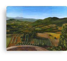 Umbrian landscape Canvas Print