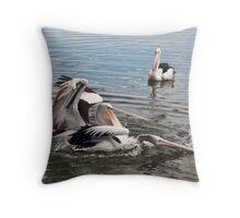 Pelican Fight 13 Throw Pillow