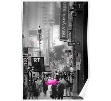 Walking down Broadway Poster