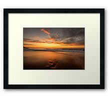 It's A Home and Away - Palm Beach, Sydney - The HDR Experience Framed Print