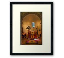 St. Margaret's Chapel Interior Framed Print