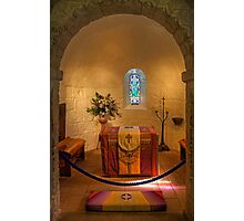 St. Margaret's Chapel Interior Photographic Print