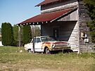 Old House with 1962 Ford Comet by BCallahan