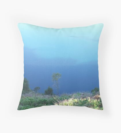 sky mirror, or is it? Throw Pillow