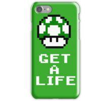 Get a life - pixel art iPhone Case/Skin