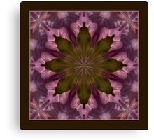 Flower of the Dragonfly Shawl Canvas Print