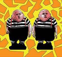 Tweedle Dee and Tweedle Dum by Clayton Fleshman