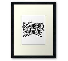 Shattered Reality new logo Framed Print