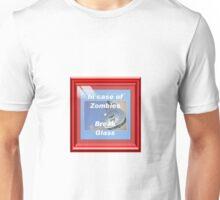 In case of Zombies- Break glass Unisex T-Shirt