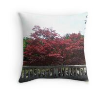 Red Crown Throw Pillow