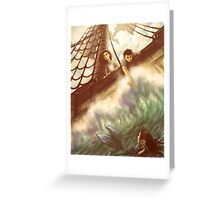 The High Seas Greeting Card