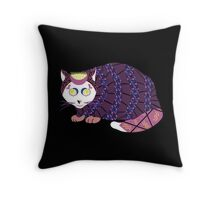 Abstract Cat [WHITE] Throw Pillow