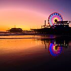Santa Monica Pier, California (cover) by Stephen Burke