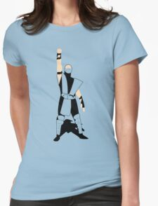Mortal Kombat Victory Womens Fitted T-Shirt