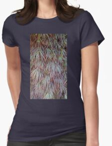 Japanese Maple Womens Fitted T-Shirt