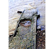 Into the Thames Photographic Print